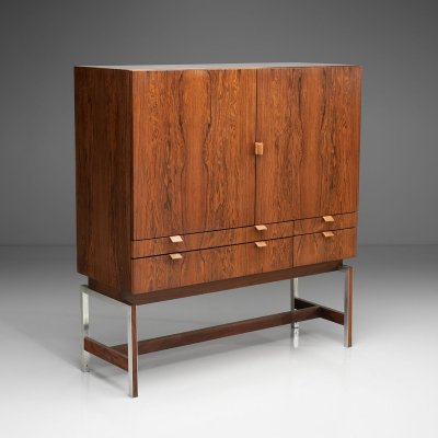 High Bar Cabinet for Fristho, The Netherlands 1960s