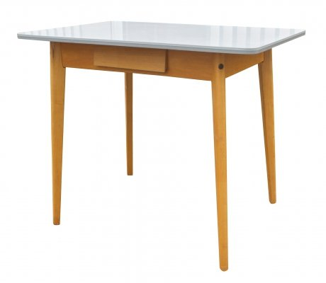 Hornitex super dining table by Vierhaus Tische, 1950s