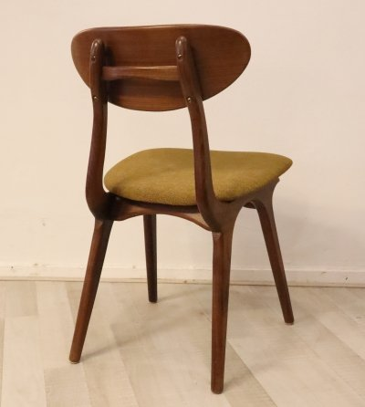 Set of 4 AWA dining chairs from Louis van Teeffelen