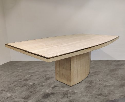 Willy Rizzo dining table for Jean Charles, 1970s