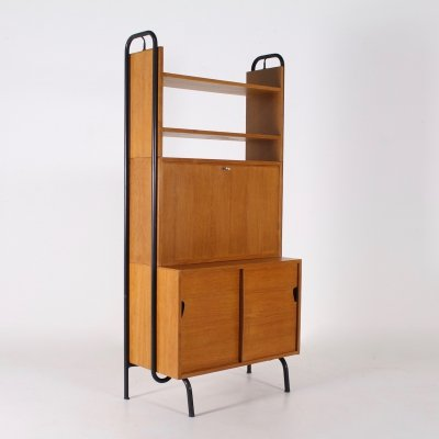 Modernist french cabinet by R. Charroy for Mobilor