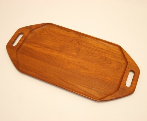 Danish model 911 Teak serving Tray by Digsmed, 1960s