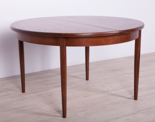 Round Teak Fresco Dining Table from G-Plan, 1960s