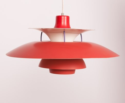 Mid Century PH5 Pendant Lamp by Poul Henningsen for Louis Poulsen