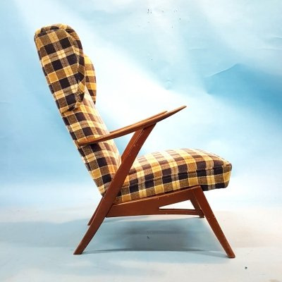 Mid century danish modern lounge chair, 1960s