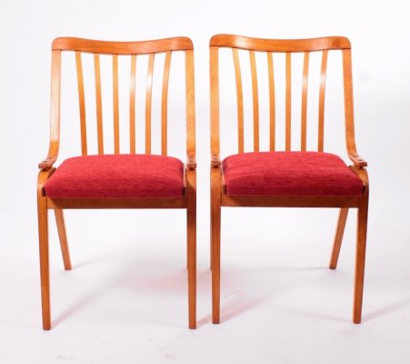 Pair of Vintage Dining Chairs by Antonin Šuman, 1960s