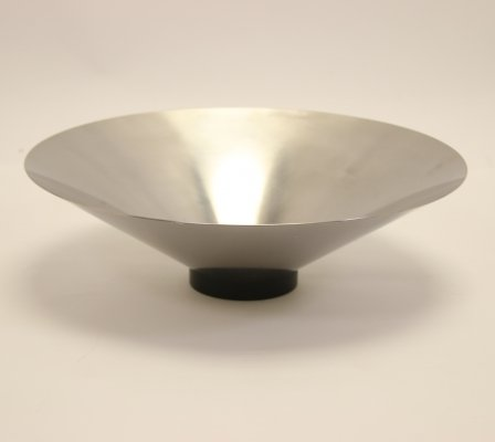 Stainless steel bowl by Jørgen Møller for Royal Copenhagen, 1980s