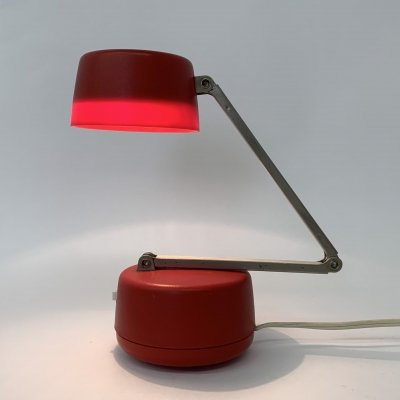 Nanbu Japan vintage 'cute' desk / wall lamp, 1970's