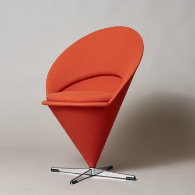 Cone lounge chair by Verner Panton for Plus Linje, 1960s