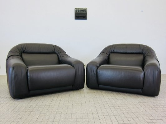Durlet Santa Cruz lounge chairs with extendable seating area, 1970s