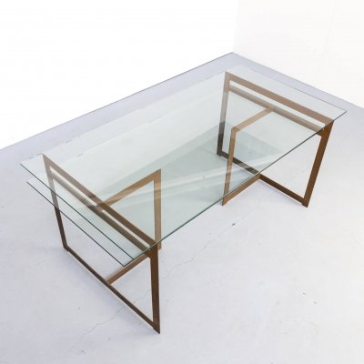 Minimalistic writing desk by Cees Dam, 1990s