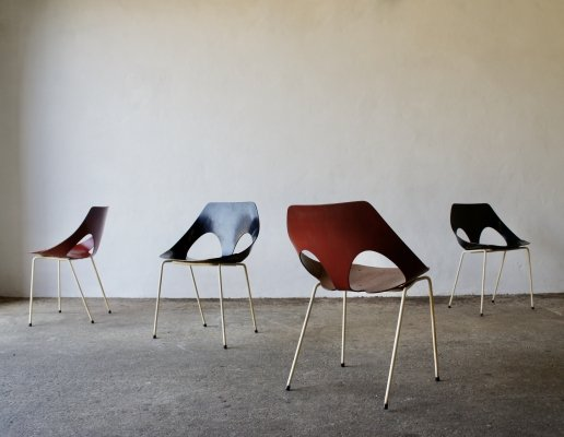 Set of 4 'Jason' Chairs by Frank Guille & Carl Jacobs for Kandya