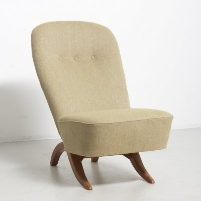 Congo easy chair by Theo Ruth, Netherlands 1950's