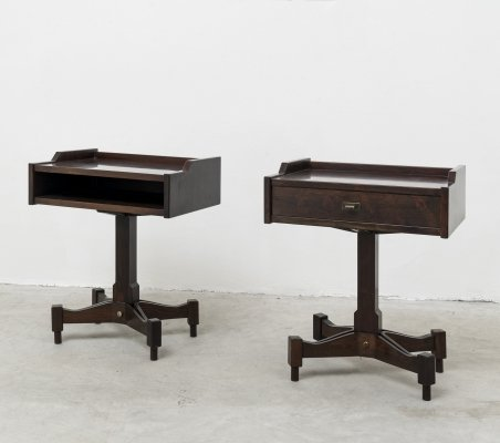 Pair of SC-50 night stands by Claudio Salocchi for Sormani, 1962