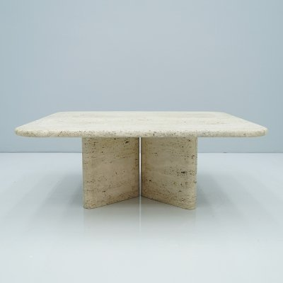 Travertine Coffee table, 1970s