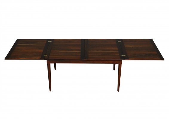 Rosewood dining table by Skovmand & Andersen, 1960s