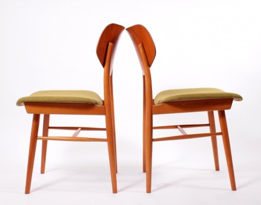 Pair of Thonet Dining Chairs, 1960s