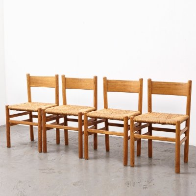 Johan van Heuvel set of 4 Dining Chairs for Ad Vorm