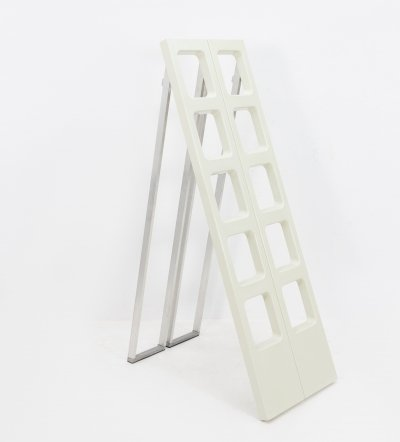 L & O Design 'Scaleo' folding library ladder, 1970s