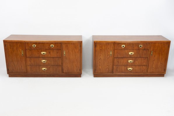 2 x Drexel chest of drawers, 1970s