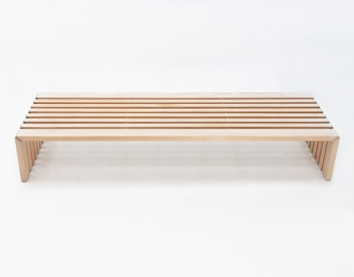 Passe Partout bench by Walter Antonis for Arspect, 1970s