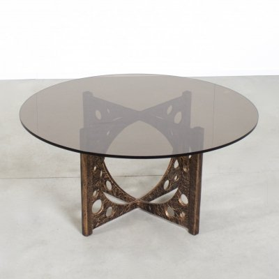 Brutalist Coffee Table by Willy Ceysens, Belgium 1960s