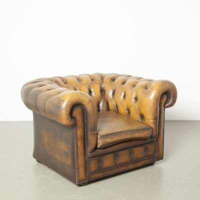 2 x Chesterfield armchair