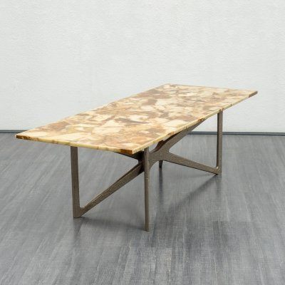 Rare 'brutalist' coffee table, 1960s
