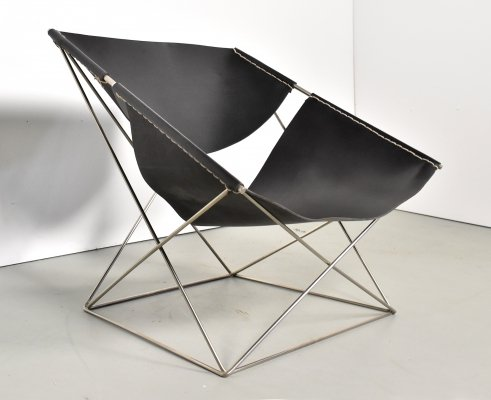 F675 lounge chair by Pierre Paulin for Artifort, 1960s
