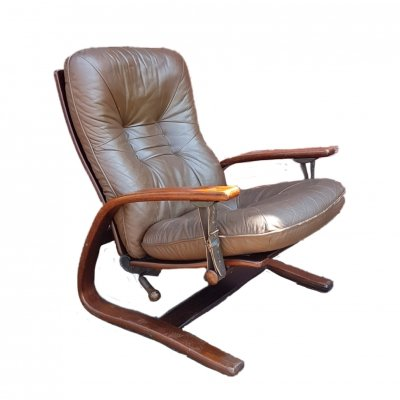 Panter lounge chair by Arnt Lande for Westnofa, Norway 1970s