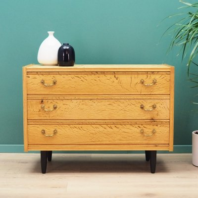 Danish design Chest of drawers in ash, 1960's