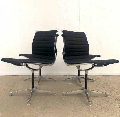 Set of 4 First Generation EA101 side chairs by Charles & Ray Eames for Herman Miller, 1960s