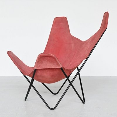Jorge Hardoy Ferrari Butterfly chair by Knoll, USA 1970