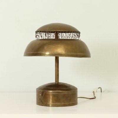 Turkish Brass Table Lamp, 1950's