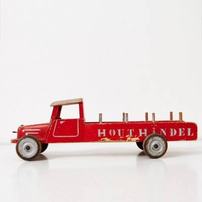 Thedo Wooden Toy Truck, 1940s