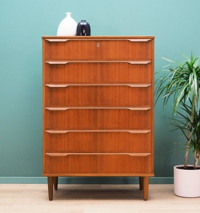 Teak Chest of drawers by Trekanten-Hestbæk A/S, 1960s