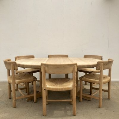 Dining set by Rainer Daumiller for Hirtshals Sawmill, Denmark 1970s