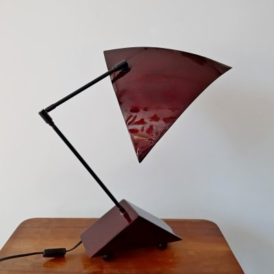 Queens Gallery Utrecht desk lamp, 1980s