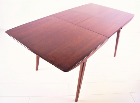 Extendable Teak Dining Table by Louis van Teeffelen for Webe, 1960s