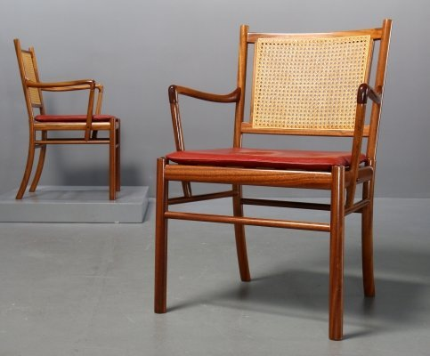 2 x Colonial Chair PJ-301 by Ole Wanscher for P.J. Jeppesen, 1960s