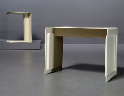 2 x Prototype Table 621 by Dieter Rams for Vitsoe, Kronberg Germany