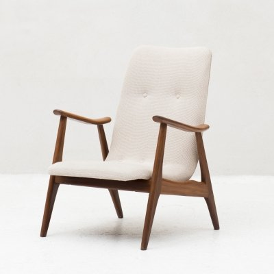 Easy chair by Louis Van Teeffelen for Wébé, 1950s