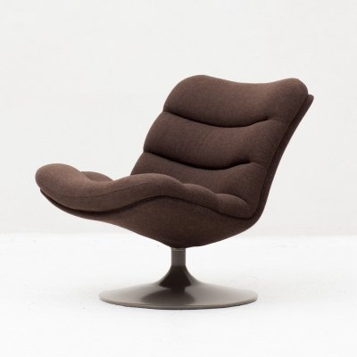 F978 Swivel easy chair by Geoffrey Harcourt for Artifort, 1950s