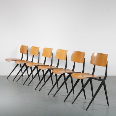 Set of 6 dining chairs by Marko, the Netherlands 1960s