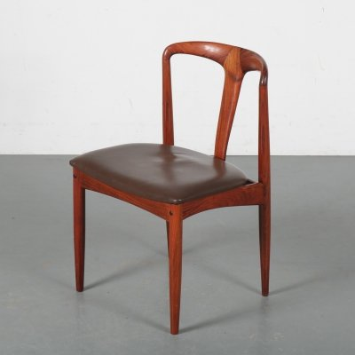'Juliane' dining chair by Johannes Andersen for Uldum, Denmark 1950s