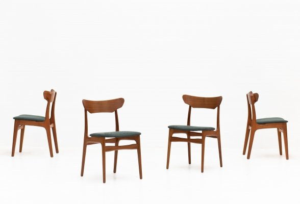 Set of 4 Dining chairs by Farstrup, Denmark 1960's