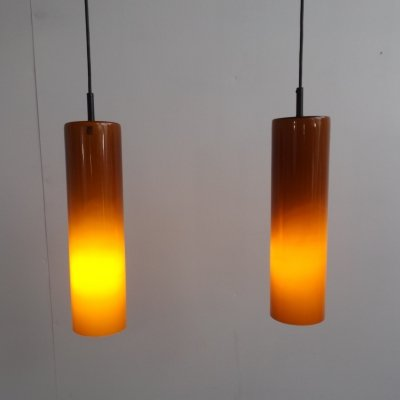 Double Venini pendant light, 1960s