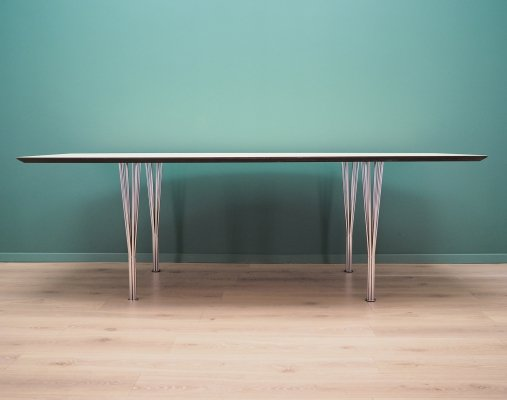 White Conference table by Lau Lauritsen, 1960s