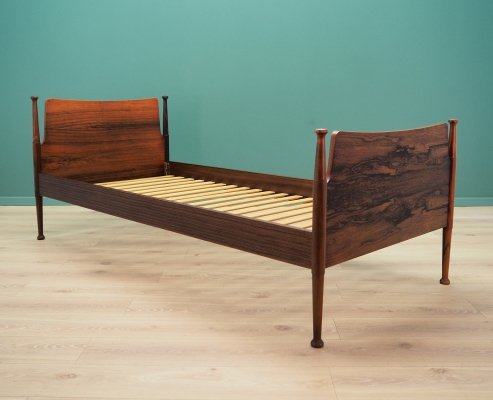 Rosewood Bed frame, Danish design 1960's
