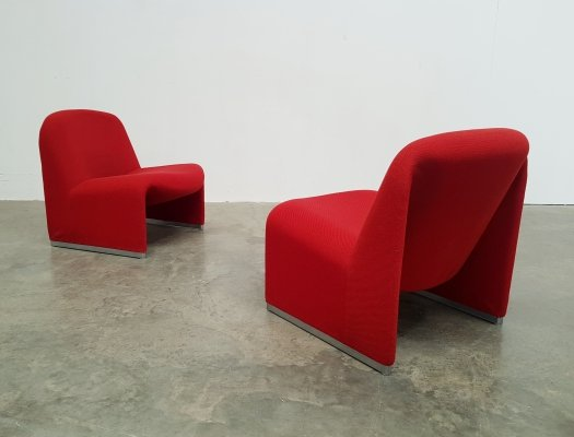 Set of 2 Alky chairs by Giancarlo Piretti for Castelli, 1970s